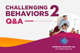 Challenging Behaviors Q&A with Dr. Ronnie Detrich